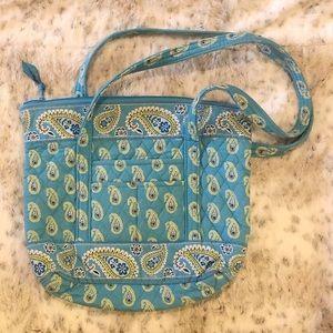 Vera Bradley Bermuda Blue Shoulder Bag/Tote